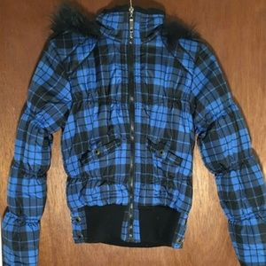 Misses winter hoodie jacket by Dollhouse size S